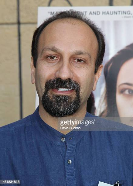 Director Asghar Farhadi attends the Golden Globe Foreign Language Film Symposium at the Egyptian Theatre on January 11 2014 in Hollywood California