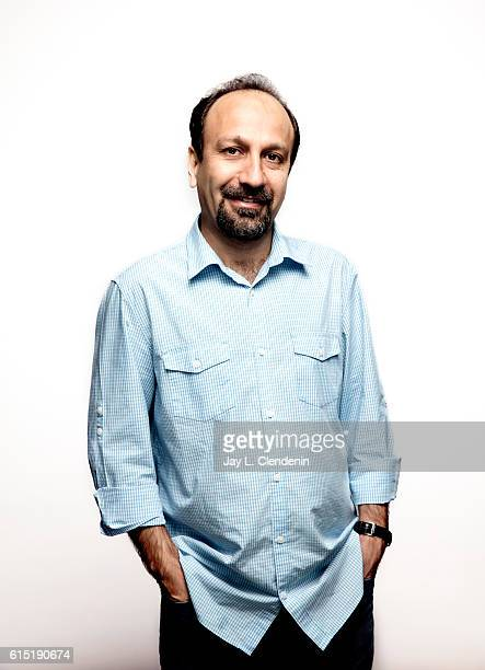 Director Asghar Farhadi from the film The Salesman poses for a portraits at the Toronto International Film Festival for Los Angeles Times on...