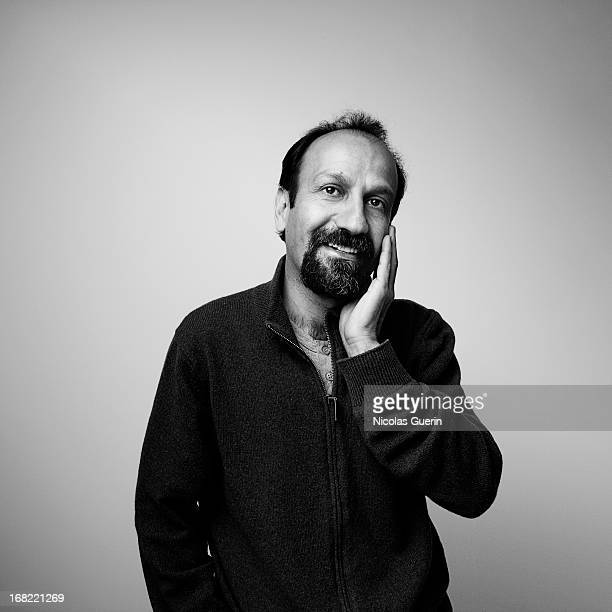Director Asghar Farhadi is photographed for Self Assignment on May 1 2013 in Paris France