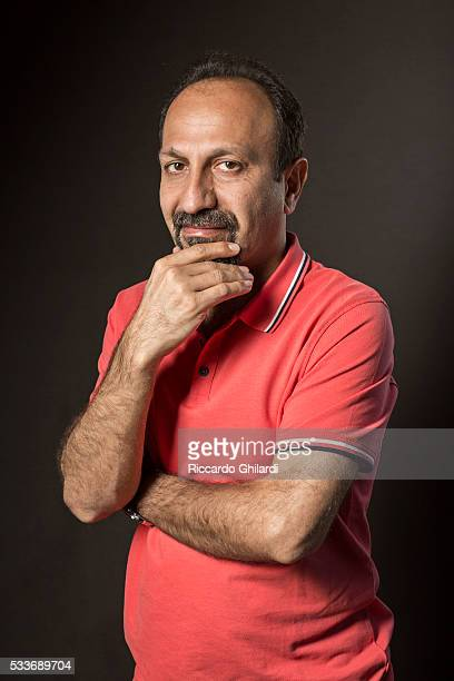 Director Asghar Farhadi is photographed for Self Assignment on May 22 2016 in Cannes France