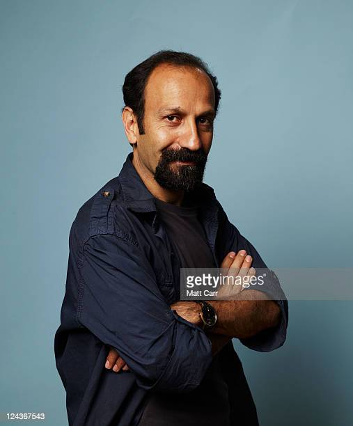Director Asghar Farhadi of A Separatation poses for a portrait during 2011 Toronto Film Festival on September 9 2011 in Toronto Canada