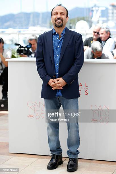Director Ashgar Farhadi attends The Salesman Photocall during the 69th annual Cannes Film Festival at the Palais des Festivals on May 21 2016 in...