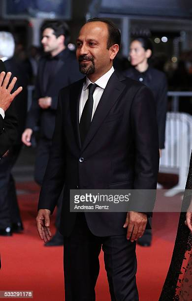 Director Ashgar Farhadi attends The Salesman Premiere during the 69th annual Cannes Film Festival at the Palais des Festivals on May 21 2016 in...