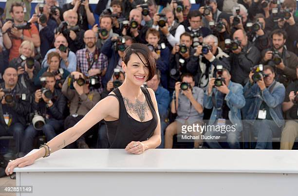 Director Asia Argento attends the 'Misunderstood' photocall at the 67th Annual Cannes Film Festival on May 22 2014 in Cannes France
