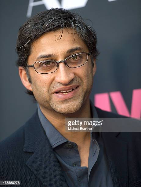 Director Asif Kapadia arrives at the premiere of A24 Films 'Amy' at ArcLight Cinemas on June 25 2015 in Hollywood California
