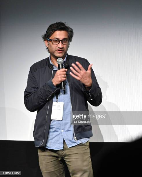 """Director Asif Kapadia speaks onstage at the """"Diego Maradona"""" screening and Q&A during the 22nd SCAD Savannah Film Festival on November 02, 2019 at..."""