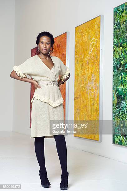 Director at Deitch Projects Nicola Vassell is photographed for Metro Magazine on March 18 2009 in New York City Curator Nicola Vassell