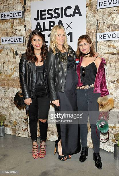 Director at DL1961 Zahra Ahmed actress/model Molly Sims and Creative director DL1961 Sarah Ahmed attend the DL1961 x Jessica Alba Collection Event at...