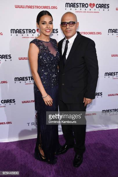 Director at Maestro Cares Foundation Bigram Zayas attends the Maestro Cares Third Annual Gala Dinner at Cipriani Wall Street on March 8 2018 in New...
