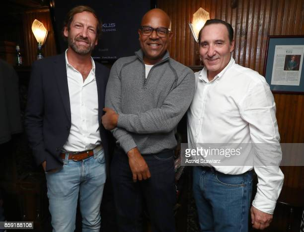 Director at MGM Holdings Inc Kevin Ulrich AMPAS New York Program Director Patrick Harrison and Daniel Crown during Hamptons International Film...