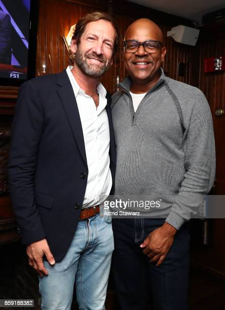 Director at MGM Holdings Inc Kevin Ulrich AMPAS New York Program Director Patrick Harrison during Hamptons International Film Festival 2017 Day Four...