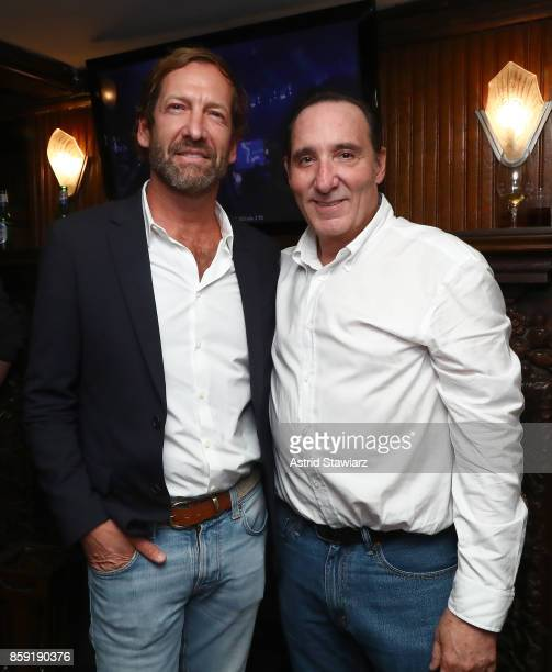 Director at MGM Holdings Inc Kevin Ulrich and Daniel Crown during Hamptons International Film Festival 2017 Day Four on October 8 2017 in East...