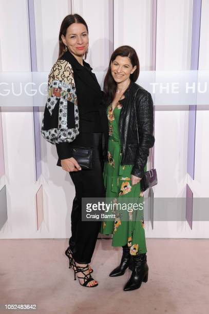 Director at Serpentine Gallery London Yana Peel and Culture Editor at W Magazine Diane Solway attend the Hugo Boss Prize 2018 Artists Dinner at the...