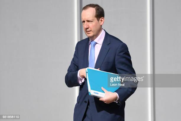 Chief of the Secret Intelligence Service Alex Younger arrives at the Cabinet Office as Prime Minister Theresa May chairs a meeting of the National...