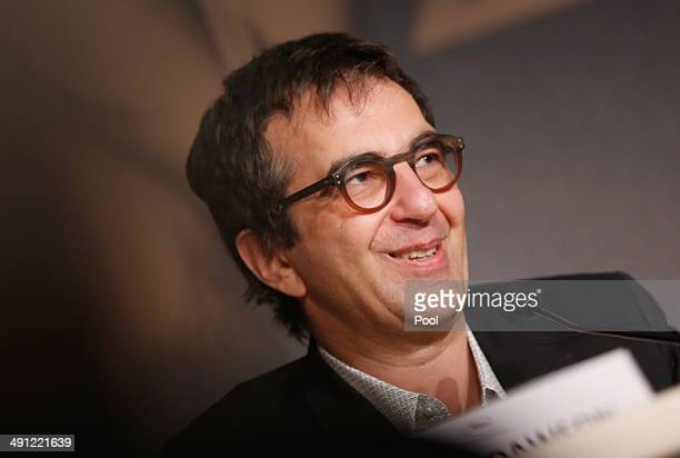 Director Atom Egoyan attends the Captives press conference during the 67th Annual Cannes Film Festival on May 16 2014 in Cannes France