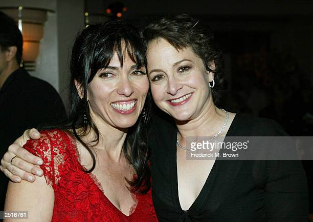 Director Audrey Wells and executive Nina Jacobson attend the after party for the film premiere of Under The Tuscan Sun at the Roosevelt Hotel on...