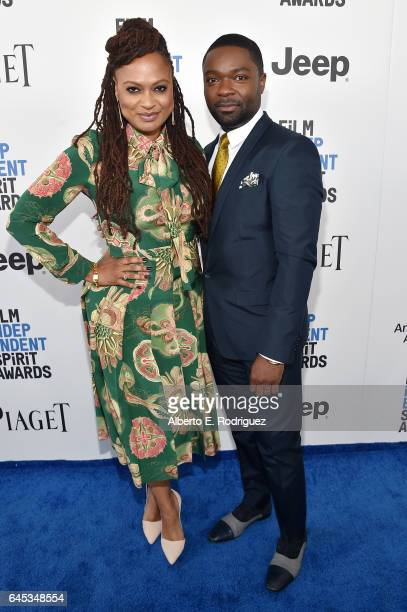 Director Ava DuVernay and actor David Oyelowo attend the 2017 Film Independent Spirit Awards at the Santa Monica Pier on February 25 2017 in Santa...