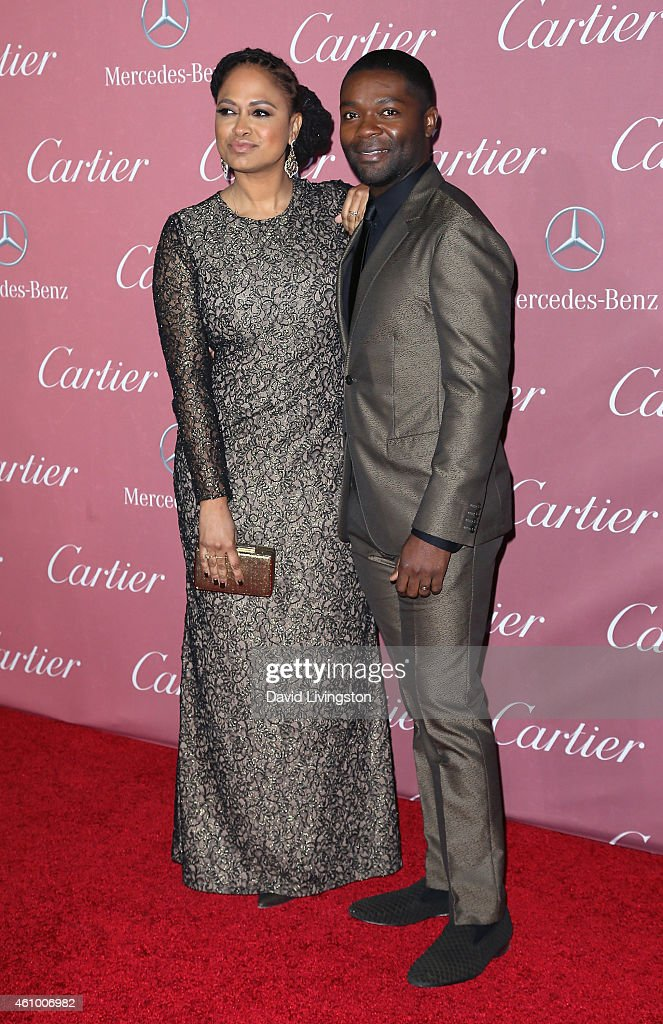 Director Ava DuVernay (L) and actor David Oyelowo attend the 26th Annual Palm Springs International Film Festival Awards Gala at the Palm Springs Convention Center on January 3, 2015 in Palm Springs, California.