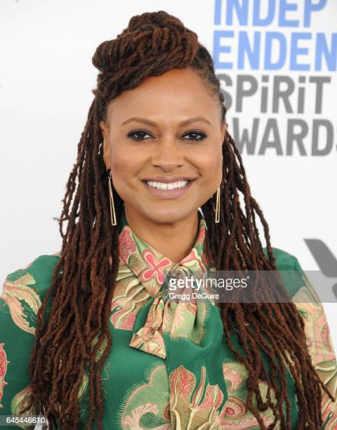 Director Ava DuVernay arrives at the 2017 Film Independent Spirit Awards on February 25 2017 in Santa Monica California