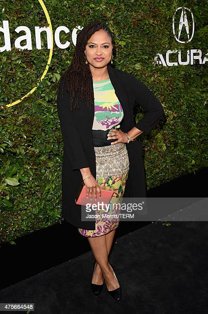 Director Ava DuVernay attends the 2015 Sundance Institute Celebration Benefit at 3LABS on June 2 2015 in Culver City California