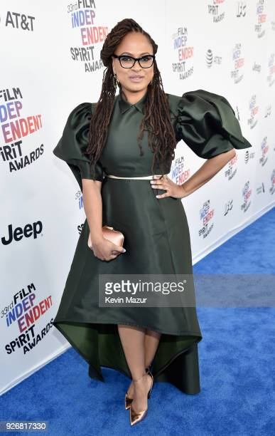 Director Ava DuVernay attends the 2018 Film Independent Spirit Awards on March 3 2018 in Santa Monica California