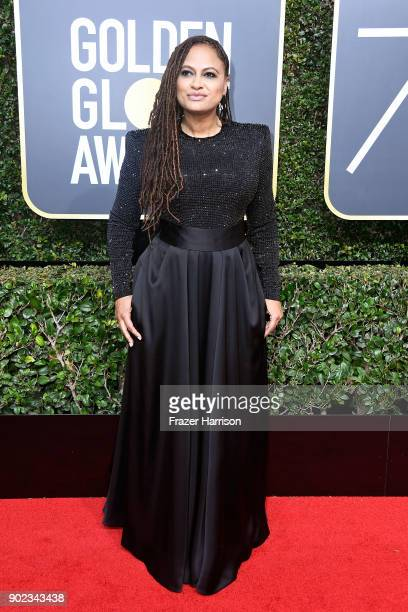 Director Ava DuVernay attends The 75th Annual Golden Globe Awards at The Beverly Hilton Hotel on January 7 2018 in Beverly Hills California