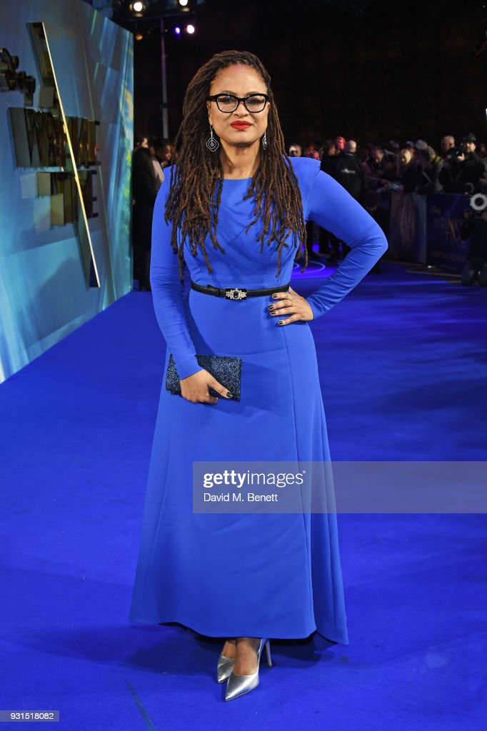 Director Ava DuVernay attends the European Premiere of 'A Wrinkle In Time' at the BFI IMAX on March 13, 2018 in London, England.