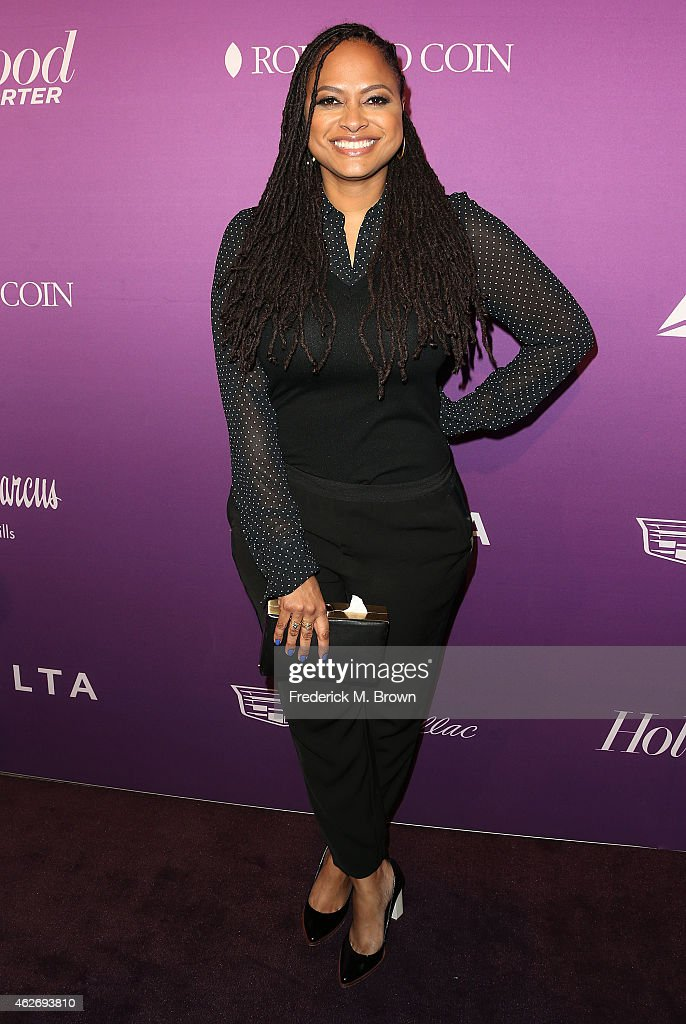 Director Ava DuVernay attends The Hollywood Reporter's Annual Oscar Nominees Night Party at Spago on February 2, 2015 in Beverly Hills, California.