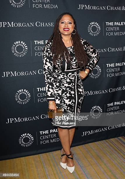 Director Ava DuVernay attends the Paley Center For Media's Tribute To AfricanAmerican Achievements In Television at the Beverly Wilshire Four Seasons...