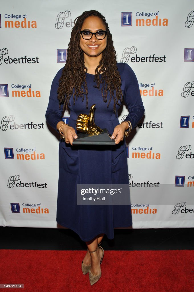 Director Ava DuVernay attends the Roger Ebert Film Festival on Day four at the Virginia Theatre on April 21, 2018 in Champaign, Illinois.