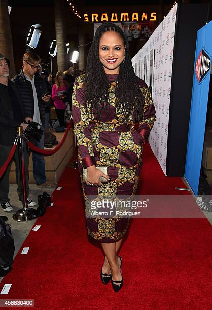 Director Ava DuVernay attends the Selma first look during the AFI FEST 2014 presented by Audi at the Egyptian Theatre on November 11 2014 in...