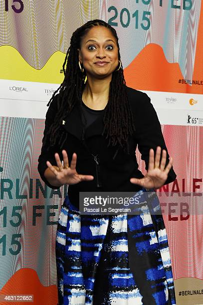 Director Ava DuVernay attends the 'Selma' press conference during the 65th Berlinale International Film Festival at Grand Hyatt Hotel on February 10...