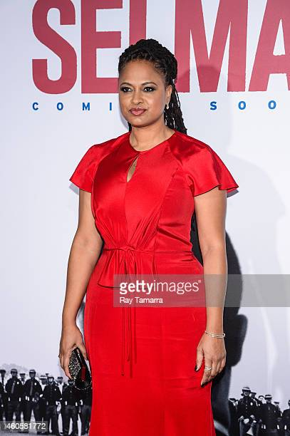 Director Ava DuVernay enters the Selma New York Premiere at the Ziegfeld Theater on December 14 2014 in New York City
