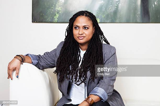 Director Ava DuVernay is photographed for Ozy on January 29 2015 in Sherman Oaks California