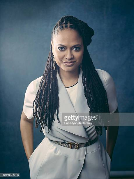 Director Ava DuVernay is photographed for The Hollywood Reporter on February 18 2015 in Los Angeles California