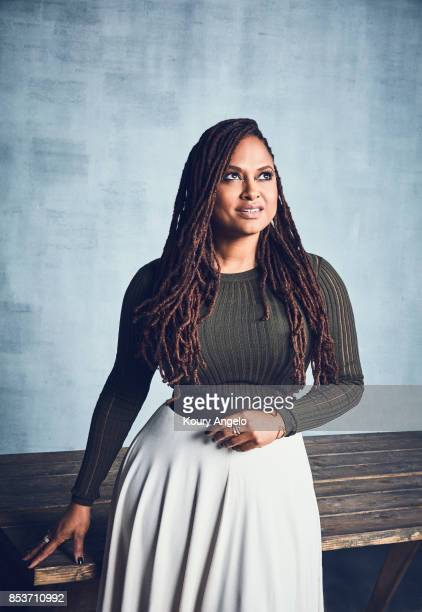 Director Ava DuVernay is photographed for The Hollywood Reporter on April 12 2017 in Los Angeles California PUBLISHED IMAGE