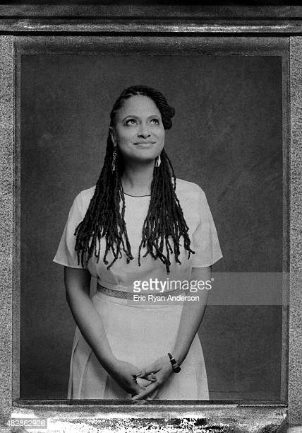 Director Ava DuVernay is photographed on polaroid film for The Hollywood Reporter on February 18, 2015 in Los Angeles, California.