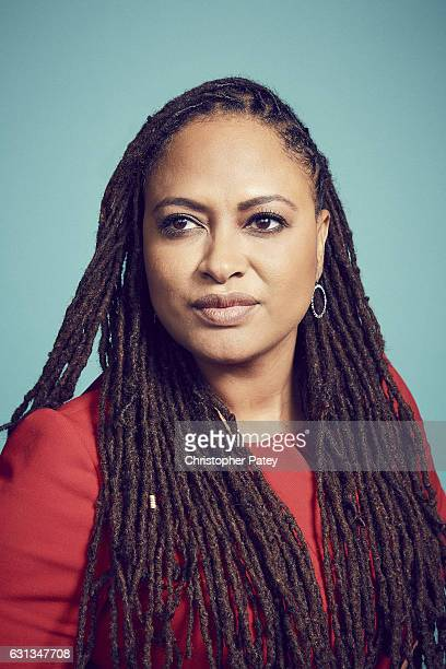 Director Ava DuVernay poses for a portrait 2017 Film Independent filmmaker grant and Spirit Award nominees brunch at BOA Steakhouse on January 7 2017...