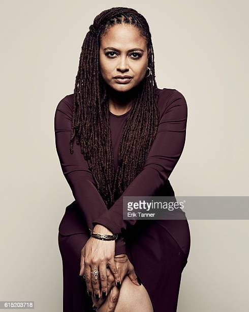 Director Ava DuVernay poses for a portrait during the 54th New York Film Festival at Lincoln Center on September 30 2016 in New York City