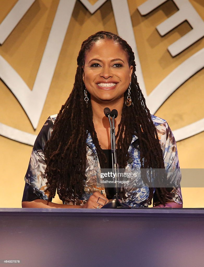 Director Ava DuVernay presents an award onstage at the 52nd Annual ICG Publicists Awards at The Beverly Hilton Hotel on February 20, 2015 in Beverly Hills, California.