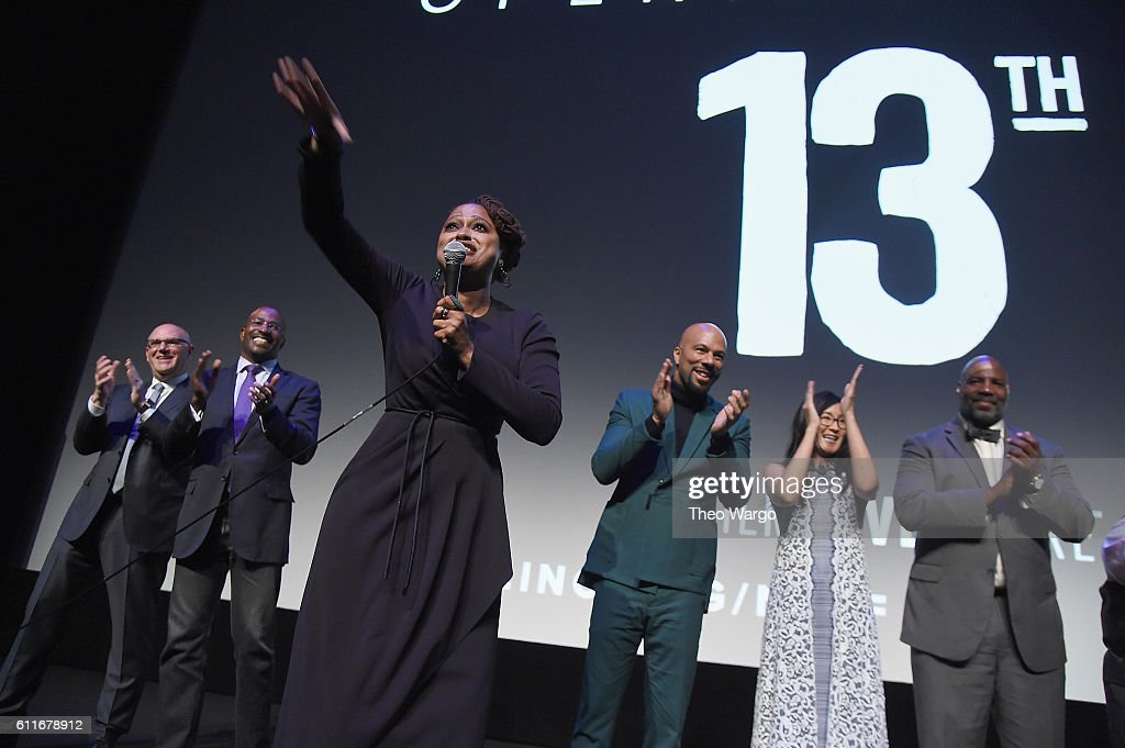"54th New York Film Festival - Opening Night Gala Presentation And ""13th"" World Premiere - Intro And Q&A : News Photo"