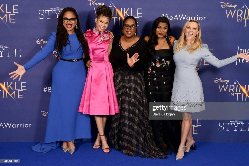'A Wrinkle In Time' Premieres In London