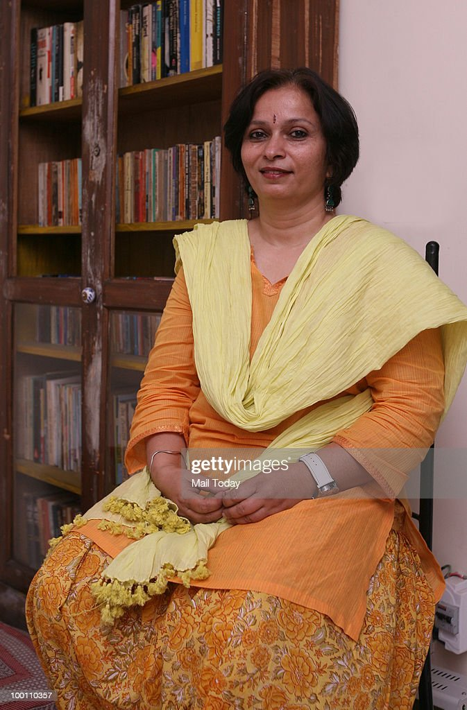 Director Baanee Sharad, daughter of noted social satirist Sharad Joshi, poses for a picture in New Delhi on May 19, 2010.