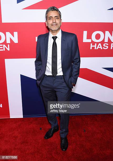 Director Babak Najafi attends the premiere of Focus Features' 'London Has Fallen' held at ArcLight Cinemas Cinerama Dome on March 1 2016 in Hollywood...