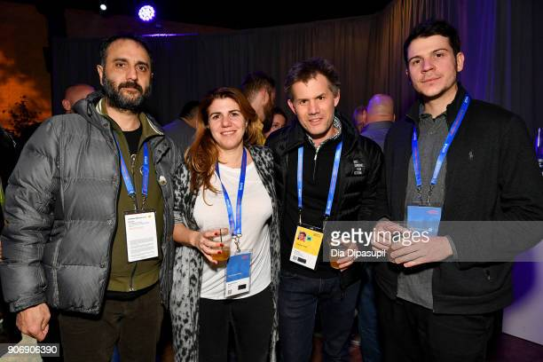 Director Babis Makridis Producer Amanda Livanou Sundance Film Festival Senior Programmer John Nein and Cinematographer Konstantinos Koukoulios attend...
