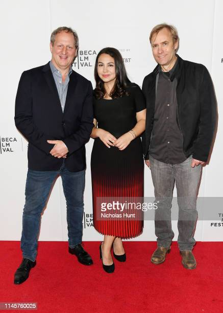 Director Barak Goodman producer Jamila Ephron and editor Don Kleszy attends the screening for Woodstock Three Days That Defined A Generation 2019...