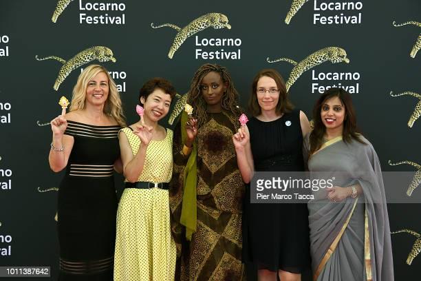 Director Barbara Miller Artist Rokudenashiko Psychologist and women's rights activist Leyla Hussein women's rights activist Doris Wagner and women's...