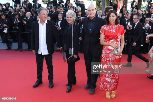 Director Barbet Schroeder of 'Le Venerable W' attends the '120 Beats Per Minute ' screening during the 70th annual Cannes Film Festival at Palais des...
