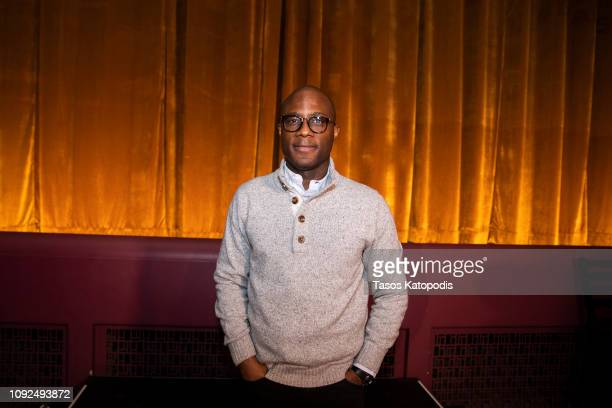 Director Barry Jenkins after a screening of If Beale Street Could Talk at The Senator Theatre on January 10 2019 in Baltimore Maryland