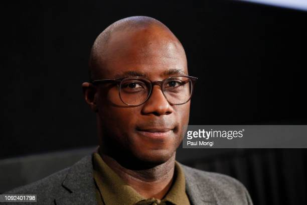Director Barry Jenkins after a screening of If Beale Street Could Talk with NAACP Legal Defense Fund on January 10 2019 in Washington City